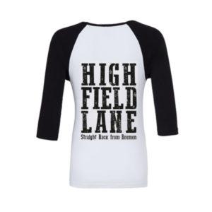 HFL Baseball Unisex schwarz weiss schwarz