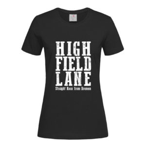 HFL T-Shirt Girlie schwarz